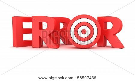 Error Target Shooting