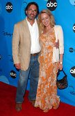 PASADENA, CA - JULY 19: Ken Olin and Patricia Wettig at the Disney ABC Television Group All Star Par