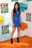 Miranda Cosgrove at the 2012 Nickelodeon Kids' Choice Awards, Galen Center,  Los Angeles, CA 03-31-1