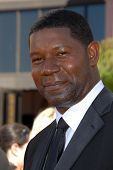 LOS ANGELES - AUGUST 27: Dennis Haysbert arriving at the 58th Annual Primetime Emmy Awards at The Sh