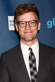 Barrett Foa at the 24th Annual GLAAD Media Awards, JW Marriott, Los Angeles, CA 04-20-13