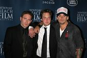 NEWPORT BEACH - APRIL 20: David Weintraub, Randy Spelling, Sean Stewart at the 7th Annual Newport Be