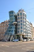 Modern Building, Also Known As The Dancing House, Prague, Czech