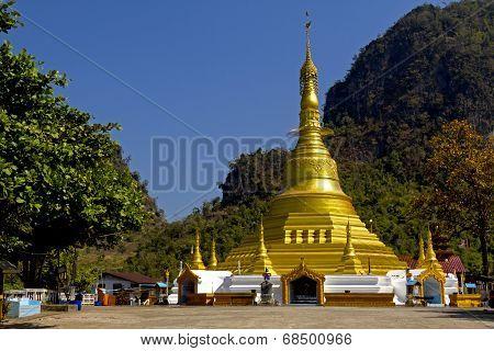 Shap Pagoda Gilded