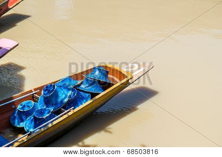 Row Boat With Hat