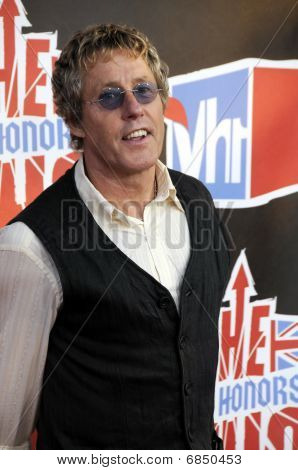 Roger Daltry on the red carpet.