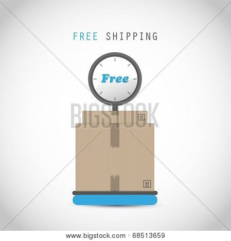 Free shipping weigher