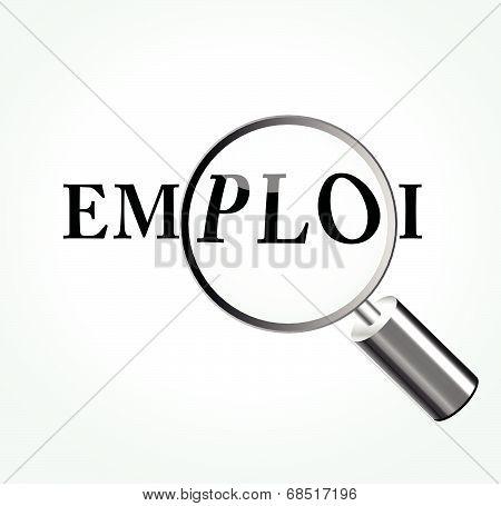Vector Employment Concept