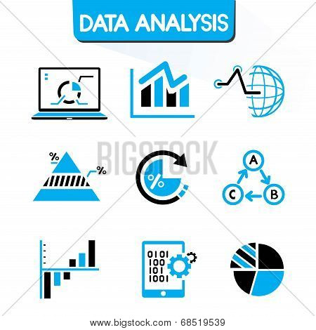 data chart icons