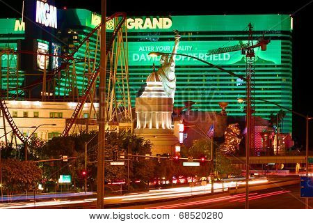 New York New York And MGM Grand