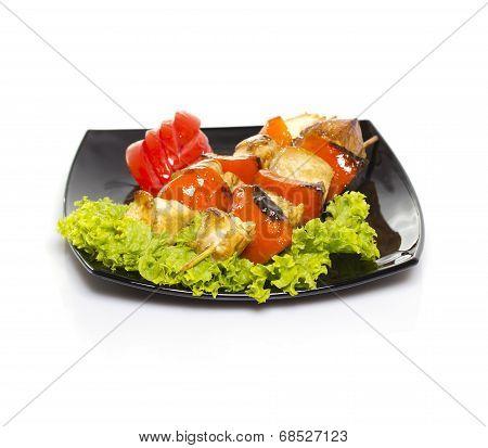 Shashlik With Vegetables