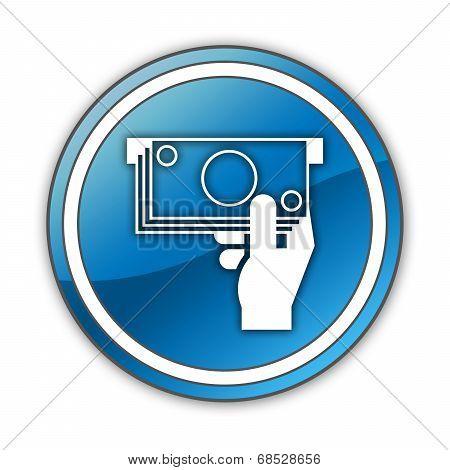 Icon, Button, Pictogram Atm