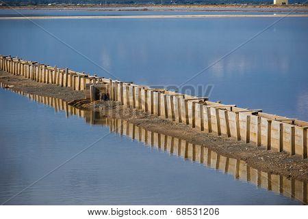 Sardinia.Salt Ponds