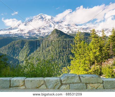 Inspiration Point, Mount Rainier, Mount Rainier National Park, WA