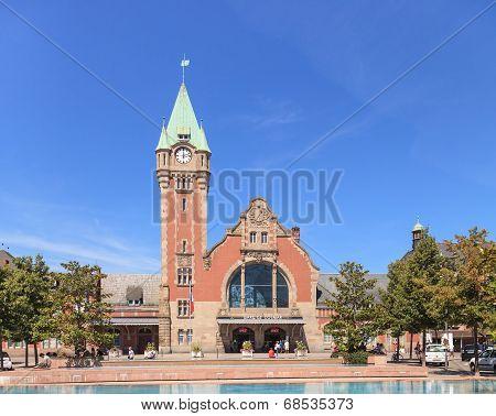 Colmar Railway Station Building