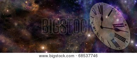 Space and Time Banner
