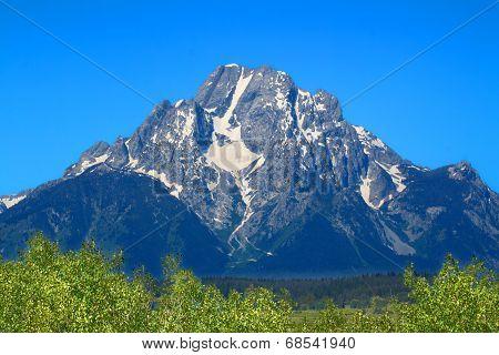 Mount Moran Grand Tetons