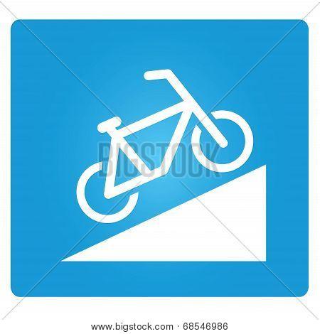 bicycle up way symbol