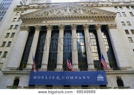 The New York Stock Exchange