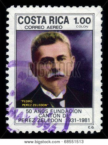 Portrait Of Pedro Perez Zeledon
