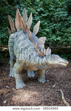 Realistic Model Of Dinosaur - Stegosaurus
