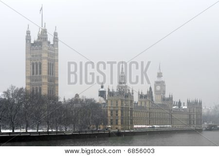 Houses Of Parlimant Building, London, England