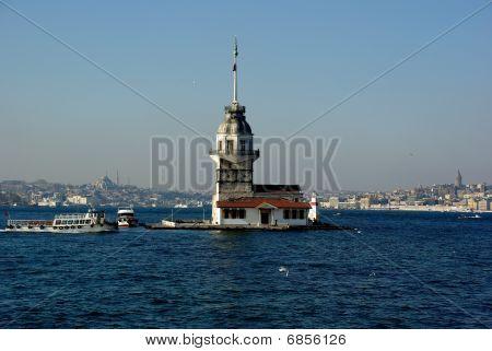 Istanbul virgin tower