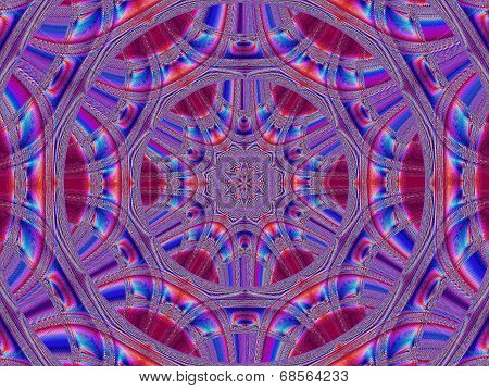 Creative Background. Kaleidoscope.  A Wonderful Harmony Of Colors. A-0071