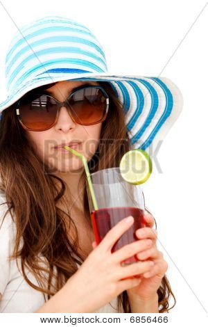 Summer Woman Isolated
