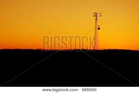 Cell Tower Sunset