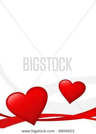 Valentine's Card Ilustration