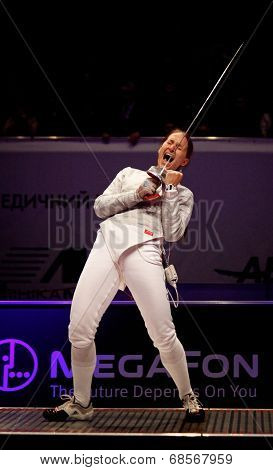 Sabre Fencer Sofya Velikaya Of Russia