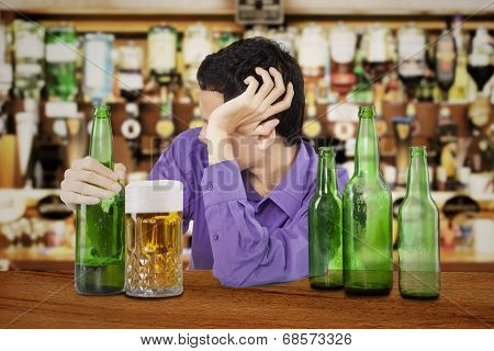 Drunk Man In The Bar