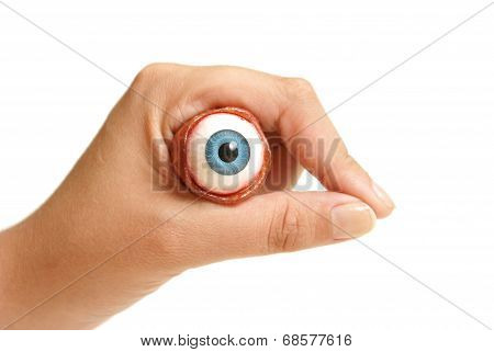 Holding An Eyeball