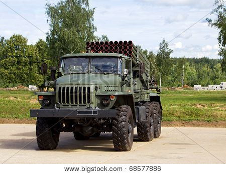 Multiple Rocket Launcher