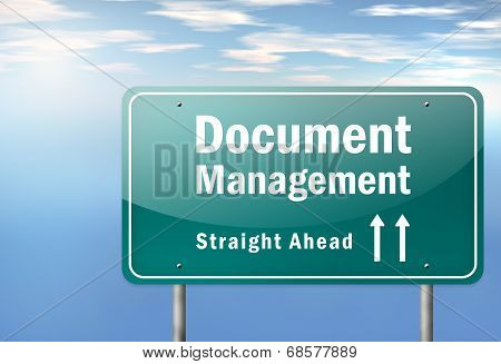 Highway Signpost Document Management