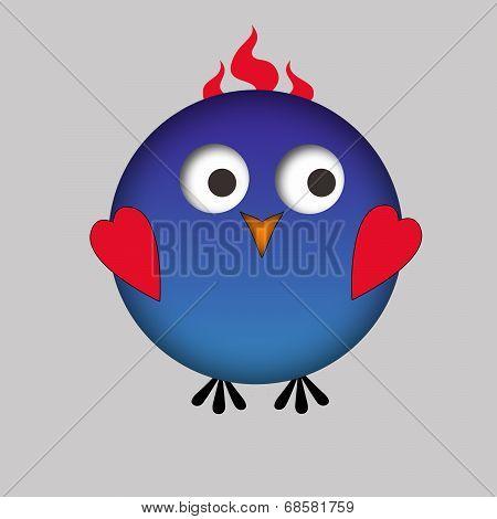 Cartoonish bird / owl