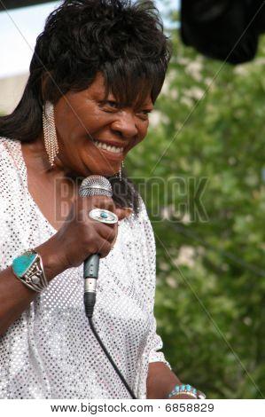 KoKo Taylor Performing at Celebrate Fairfax, Fairfax, VA. June 15,2005