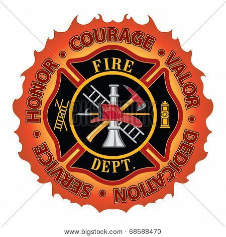 Firefighter Honor Courage Valor