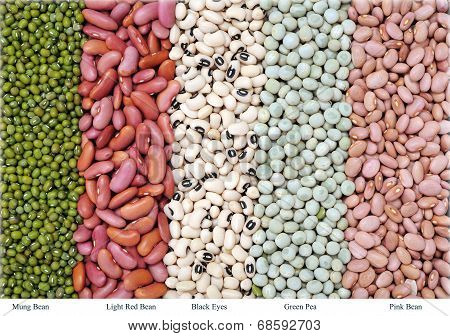 Mix Bean And Pea