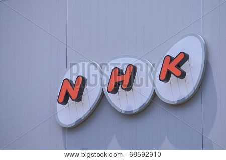 HNK Japanese TV broadcasting company