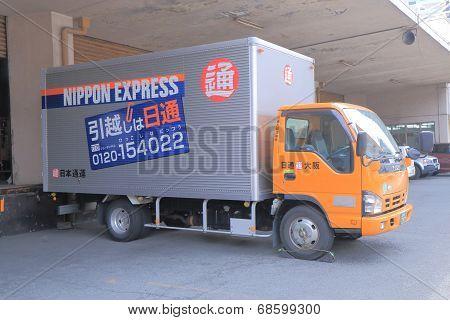 Nippon Express truck Japan