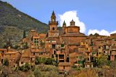 picture of chopin  - a view of valldemossa in mallorca balearic islands spain - JPG