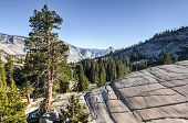 pic of granite dome  - Yosemite National Park - JPG