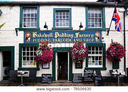 Bakewell pudding factory.
