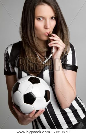 Soccer Referee Girl