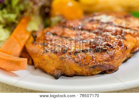 Grilled Pork Fillets