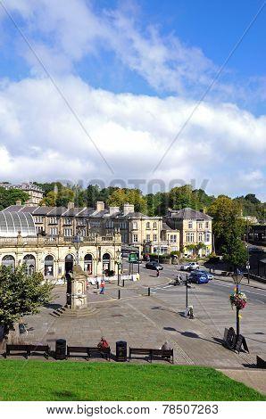 Buxton town centre.