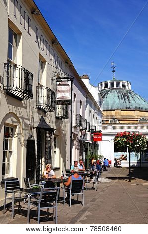 Pavement cafes, Cheltenham.