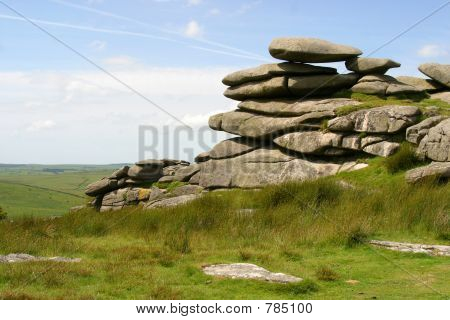 The Cheesewring, Bodmin Moor, Cornwall, UK